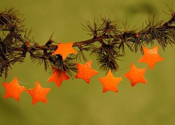 Sapin de Noël 100% récup : une belle étoile en papier (24/24)
